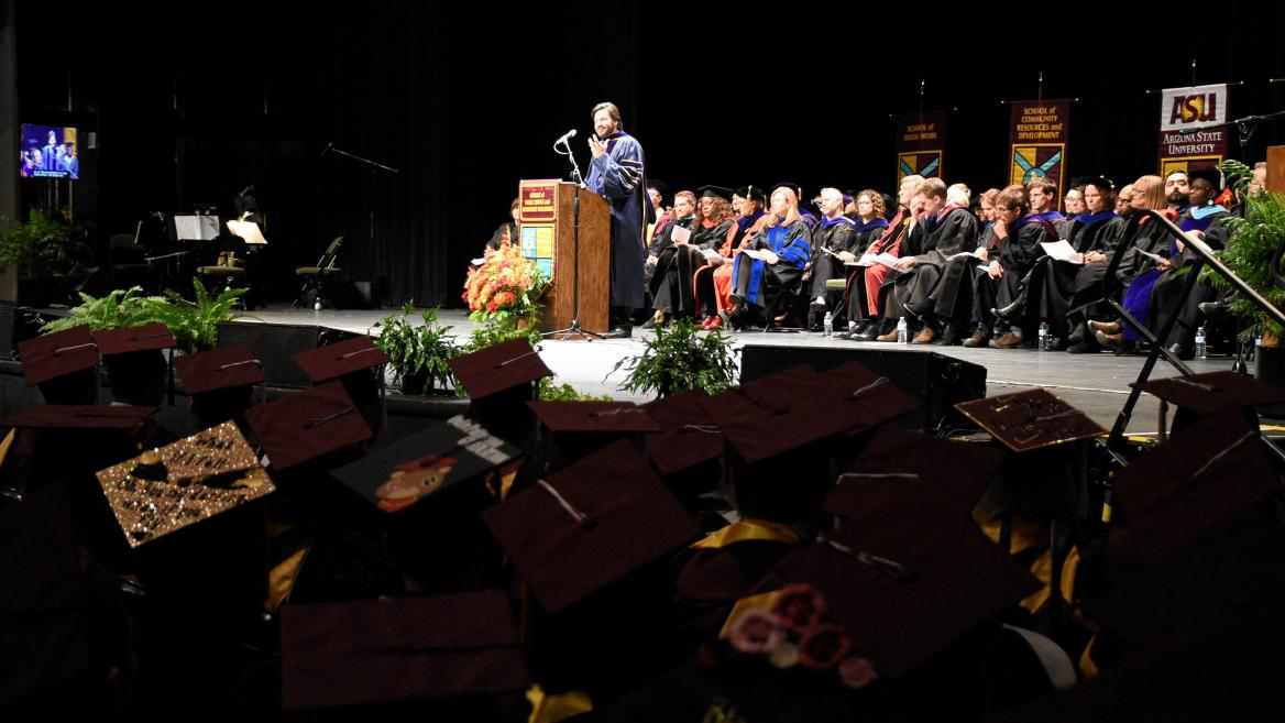 College of Public Service and Community Solutions Fall 2017 Convocation