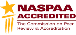 NASPAA Accredited: The Commission on Peer Review and Accreditation
